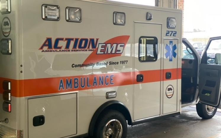 New Action Ambulance in Service